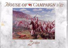 A Call To Arms Zulus,  Zulu War, Figures in 1/72 AAF 56 ST