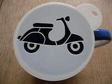 LASER CUT VESPA SCOOTER Design Caffè e artigianali Stencil