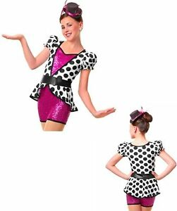 """Dance Costume by Curtain Call """"Glam Session"""" Style E1232"""