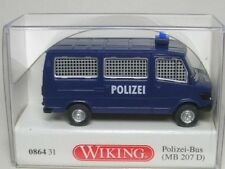 MERCEDES 207 D bus police