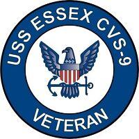 """USS Essex CVS-9 Veteran 5.5"""" Sticker / Decal"""