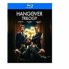 THE HANGOVER TRILOGY - BLU RAY -- NEW / SEALED - UK STOCK