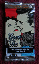 Unopened Pack GONE with the WIND Movie Trading Cards ~ Clark Gable Vivien Leigh