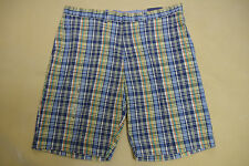 """NEW NWT TOMMY HILFIGER MENS CASUAL SHORTS SIZE 36W x 11IN 36"""" WAIST BRIGHT BLUE"""