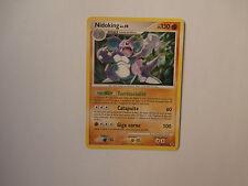 Carte Pokemon Nidoking 130 pv Platine Rivaux Emergeants rare !!!