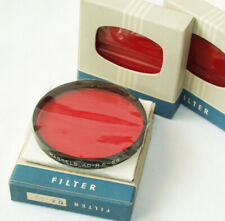 3 boxed, brand new Hasselblad Red filters for 1000F-1600F