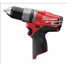 "New Milwaukee M12 FUEL 12-Volt Brushless 1/2"" Hammer Drill Driver # 2404-20"