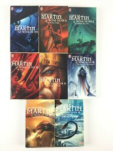Game Of Thrones Le Trone De Fer Lot 8 Livres Tomes 1 2 3 10 11 12 13 15 / Poche