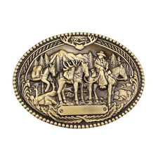 Gold Filled Cowboy Shoes Belt Buckle American Wholesale Accessories