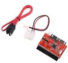 Ide Pata à Serial Sata Convertisseur à Bi-Directionelle Adaptateur avec Câble