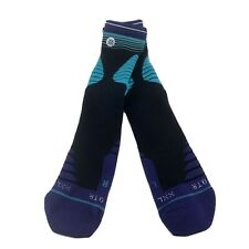NBA Charlotte Hornets Basketball Player Stance Buzz City Crew Socks Size 2XL