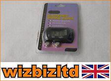 NOIR et gris LCD Contacteur Vespa Scooter Adhésif avec M3 plaquette LCDCLOCKnoir