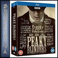 PEAKY BLINDERS COMPLETE SERIES 1 2 3 4 5 **BRAND NEW BLU-RAY BOXSET***