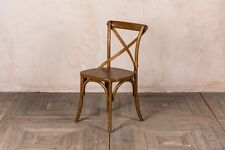 OAK KITCHEN CHAIR TRADITIONAL CROSS BACK CHAIR BENTWOOD DINING CHAIR