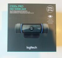 Logitech C920s Pro HD 1080p Webcam with Privacy Shutter  FREE SHIPPING