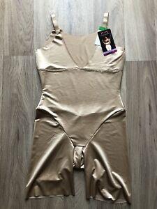 MAIDENFORM All- Over Solution Shape Wear Size L BNWT RRP$57 Beige