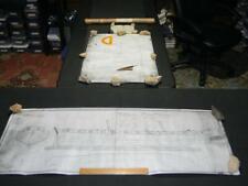 On Her Majestys Service HMSO Ship Plans Schooner Prince de Neufchatel Model/Wall