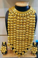 Indian Bollywood Ethnic Wedding Fashion Bridal Gold Plated Designer Jewelry Set