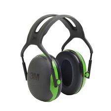 3M Peltor X1A Ear Defenders Headband Hearing Protection SNR 27dB Earmuffs Green