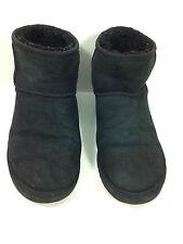 UGG Australia Classic Mini Boots 5854 Black Size 8 USA.