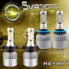 LED Headlight 9003 H4+Fog Light H11 for Toyota Tacoma 2012-2015/Yaris 2006-2017