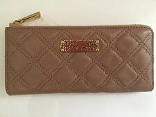 NWT MARC JACOBS 'The Lex' Quilted Leather Zip-Around Continental Wallet New