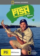National Geographic - Monster Fish - The Aussie Catch (DVD, 2011) New Region 4