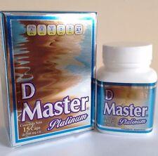 DIET MASTER NEW PRESENTATION 15 CAPS 100% ORIGINAL PLATINUM D MASTER CAPSULAS