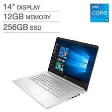 "HP 14"" FHD Laptop Intel 11th Gen i5-1135G7 12GB 256GB SSD Backlit Keyboard New"