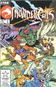 Thundercats Comic Book #2 Marvel Comics 1986 NEW UNREAD NEAR MINT