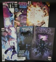 THOR (2020) #1 - 6 LOT NM! Mixed Prints + Skan Variant - Donny Cates 1 2 3 4 5 6