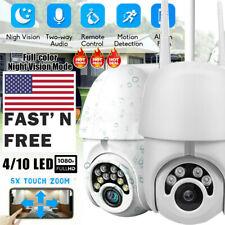 360° Outdoor Waterproof WiFi PTZ Hidden 1080P Security IP IR Camera Night Vision