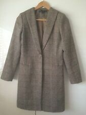 Tweed Knee Length Checked Coats & Jackets for Women