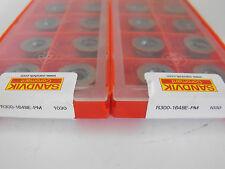 *Unopened Boxes* 20Pcs.Sandvik R300-1648E-Pm 1030 Carbide Milling Inserts