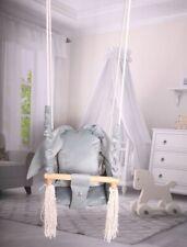 Baby Swing Swings Chair Child Wood Swing Chair Bunny Toy Bunny RabbitShape Swing