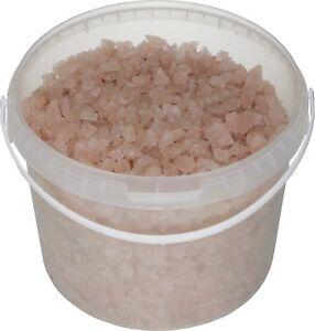 SIVASH® rosa Meer-Badesalz, unraffiniert, naturbelassen, 5kg für 10 Bäder