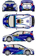 1/43 Decal Ford Fiesta WRC #23 Rally RACC Catalunya 2013