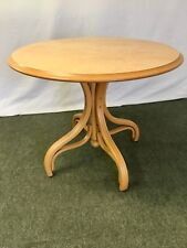 Bentwood single pedestal circular kitchen - pub table (2 available) #1973