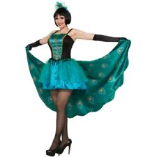 Pretty in Peacock Womens One Size Costume Blue