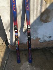 "Pair of Olin Catalyst X Sidecut Ski's 58"" Blue/Red"