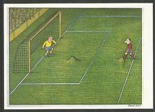 Allemagne RDA EP Kunstaustellung DDR Wolfgand Theiler Ohne Titel Humour Football