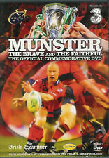 Munster The Brave and The Faithful The road to 2006 Heineken Cup Rugby DVD