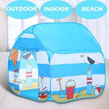 Pop Up Kids Play Tent Four Corner Indoor Outdoor Park Beach Children Playhouse