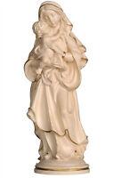 Estatua Madonna De Paz Madera Natur - Our Lady Of Peace Natural Wood