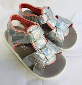 See Kai Run sandles little girl glitter