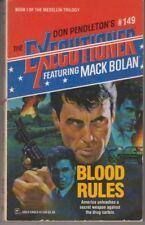 Executioner #149 Blood Rules - PB 1991 - Don Pendleton - Mack Bolan