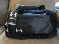 Under Armour Small Profile Duffle Bag Carbon/White Hexagon Ripstop New