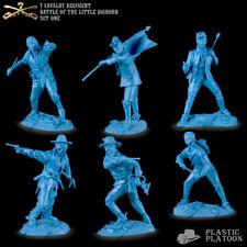 Plastic Platoon Toy Soldier 7th Cavalry Regiment Battle of Little Bighorn, 1/32