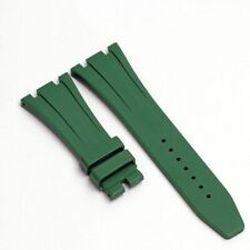 26 27 mm Soft Silicone Watchband For Audemars Piguet 15400 Wrist Rubber Strap