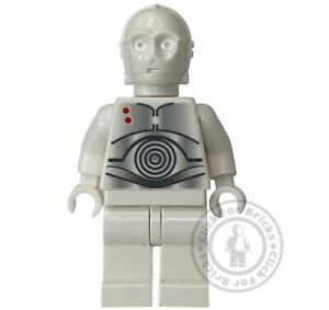 LEGO Genuine Star Wars K-3PO Minifigure From 7666 Hoth Protocol Droid - sw0165